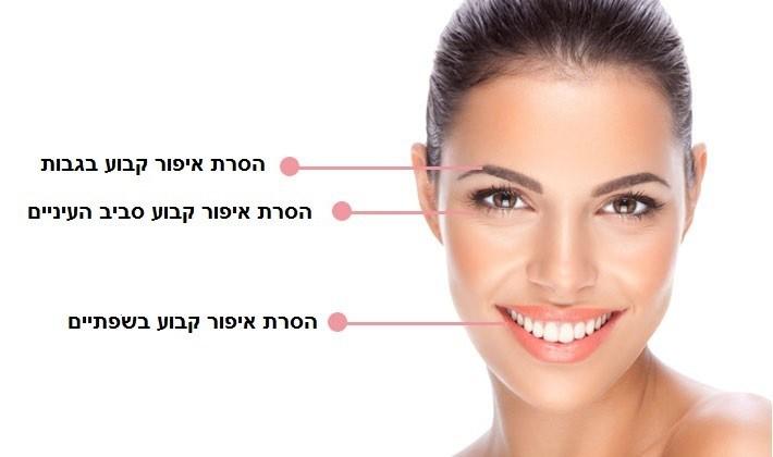 הסרת איפור קבוע בגבות בטבריה | מחיקת איפור קבוע בגבות בטבריה
